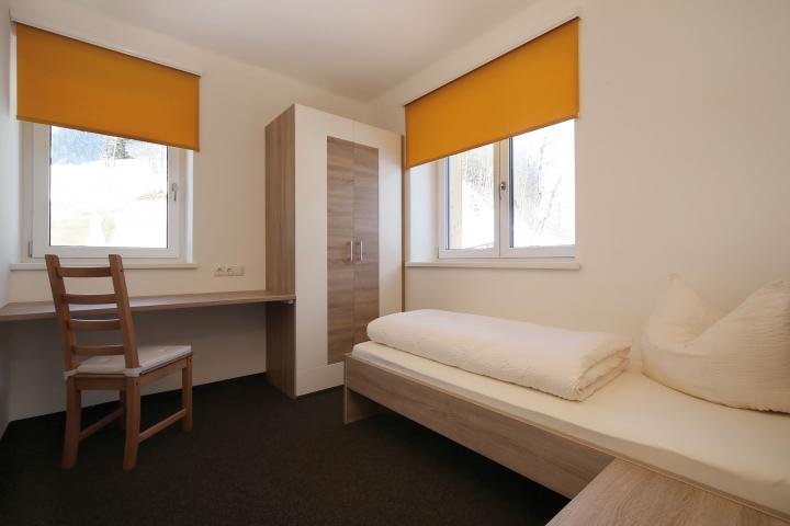 Skischulheim Schlafzimmer